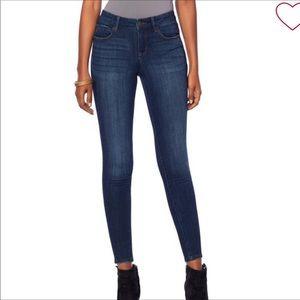 Skinny girl jeans the skinny dark wash jeans